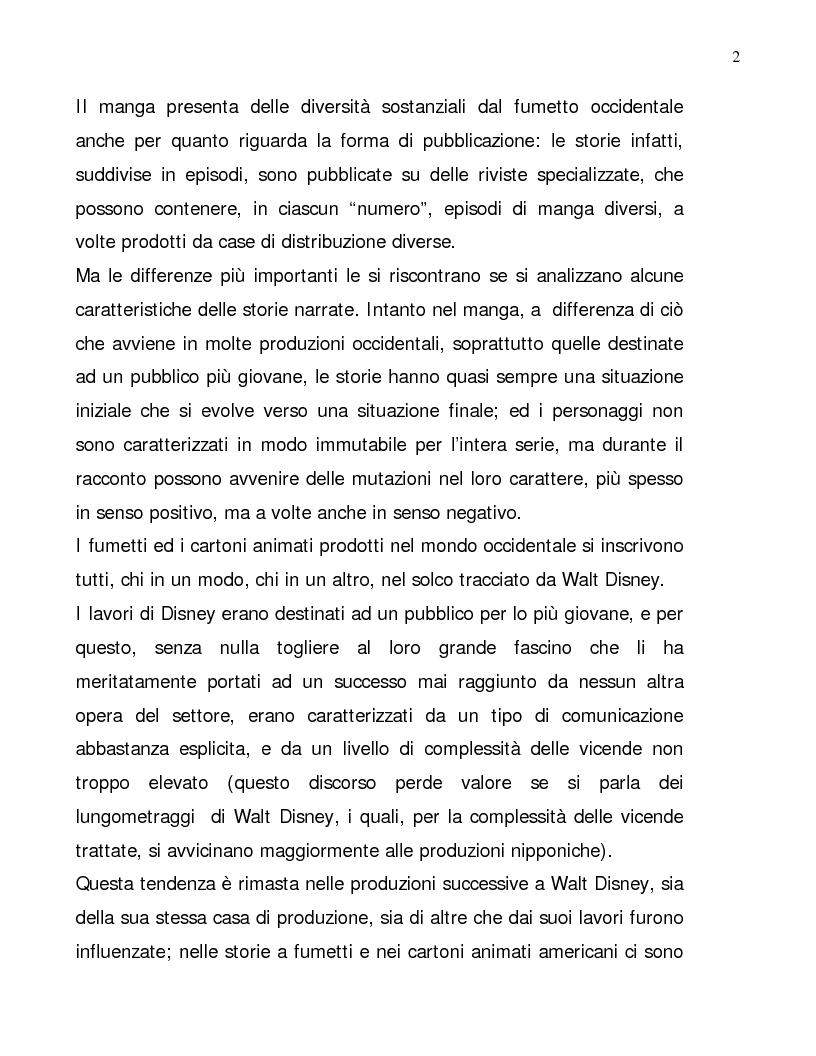 Anteprima della tesi: Lettura psicologica dei manga, Pagina 2
