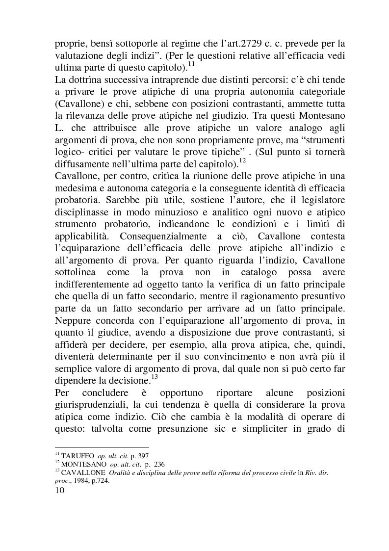 Anteprima della tesi: Ammissibilità ed efficacia probatoria dei nuovi mezzi di indagine processuale imposti dal progresso scientifico, Pagina 5