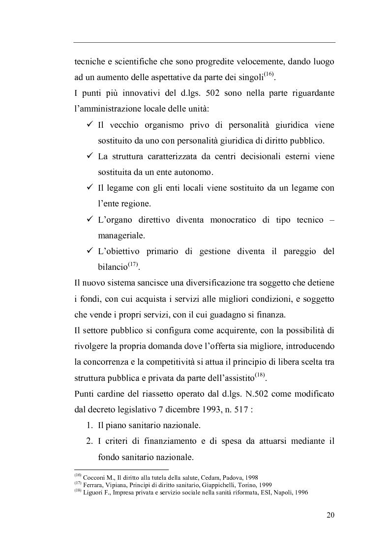 Anteprima della tesi: Il Direttore Generale dell'azienda sanitaria, Pagina 14