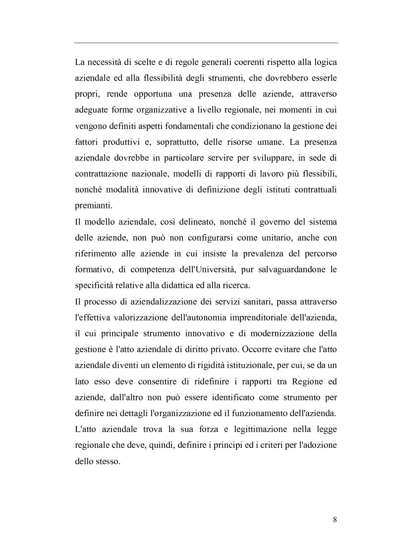 Anteprima della tesi: Il Direttore Generale dell'azienda sanitaria, Pagina 2