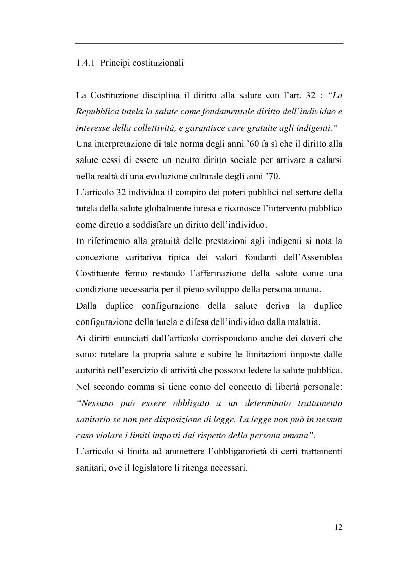 Anteprima della tesi: Il Direttore Generale dell'azienda sanitaria, Pagina 6