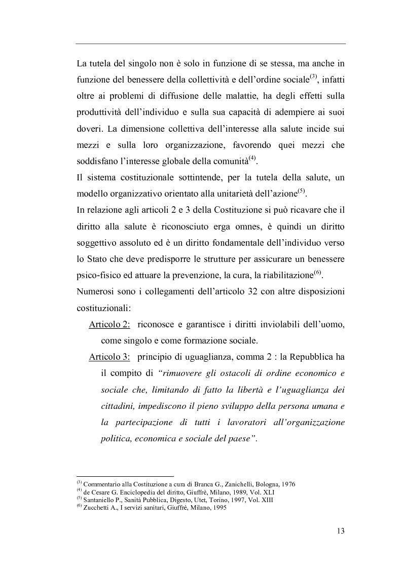 Anteprima della tesi: Il Direttore Generale dell'azienda sanitaria, Pagina 7