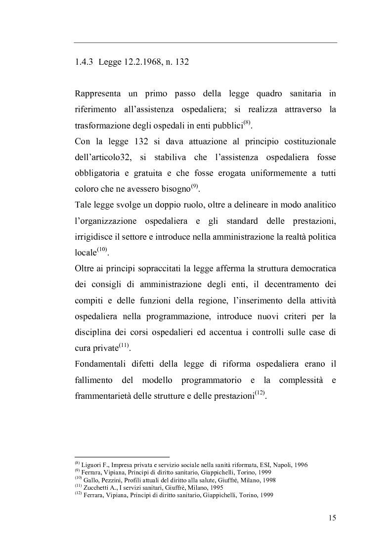 Anteprima della tesi: Il Direttore Generale dell'azienda sanitaria, Pagina 9