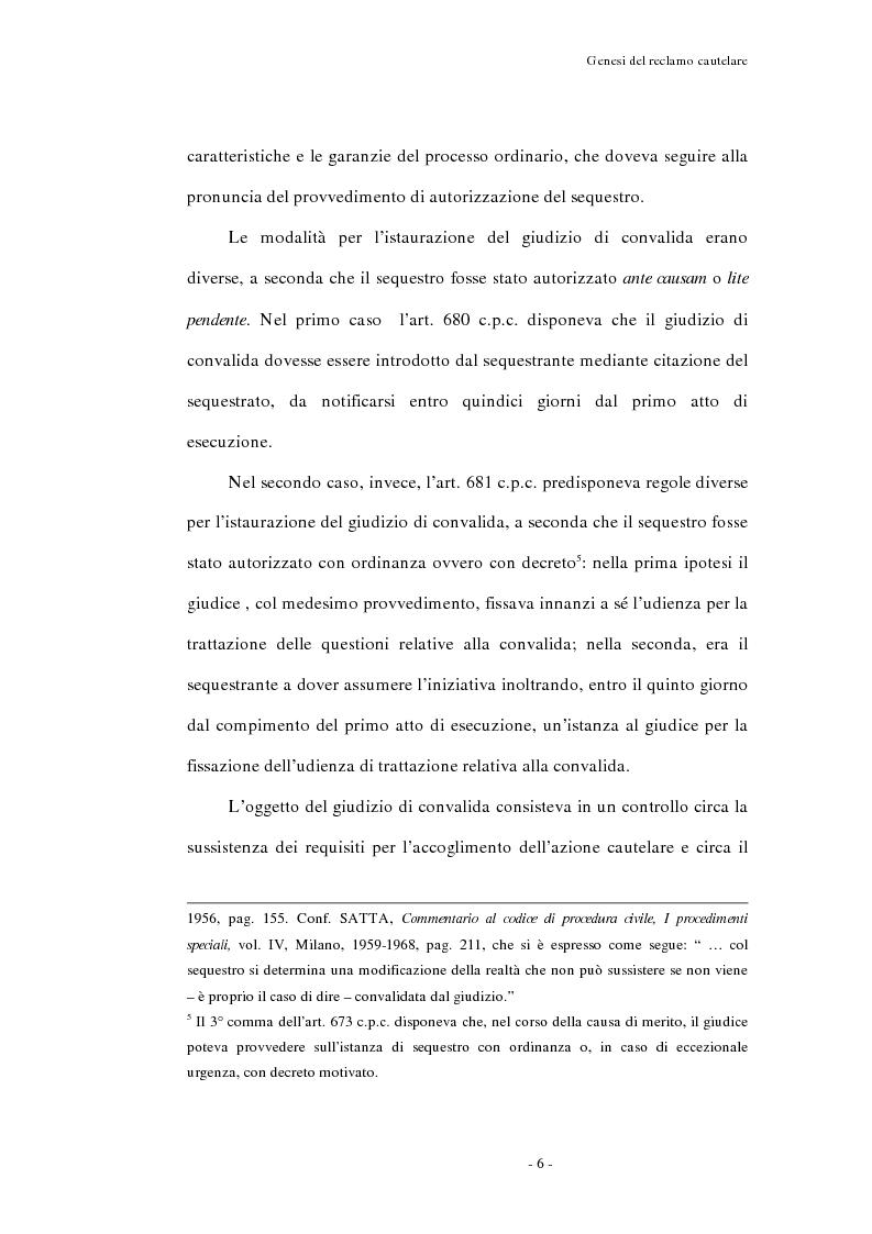 Anteprima della tesi: Il reclamo cautelare, Pagina 3