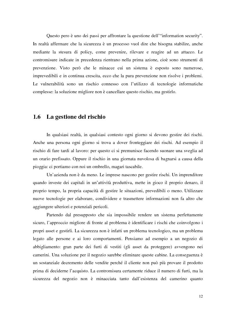 Anteprima della tesi: Managed Security Services: monitoring di una rete aziendale mediante tecnologie di log consolidation e correlazione degli eventi, Pagina 10