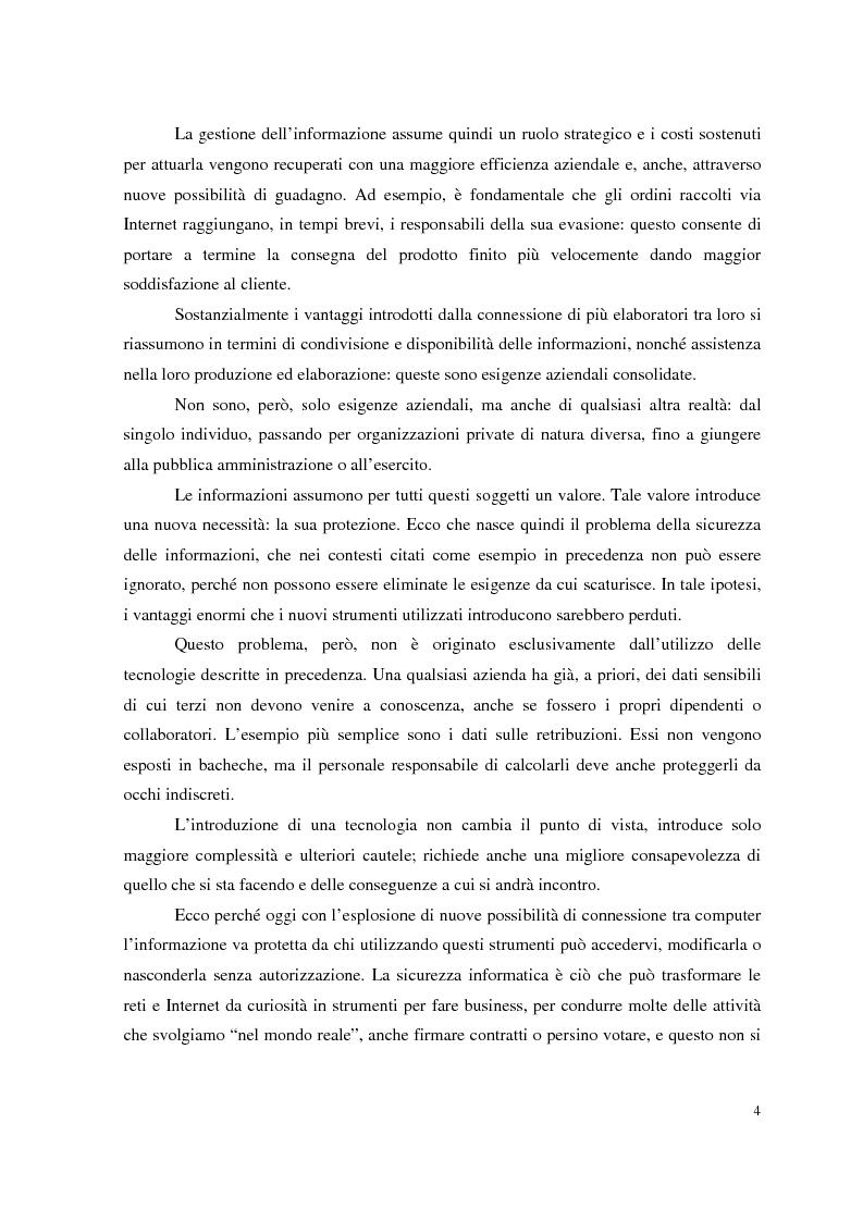 Anteprima della tesi: Managed Security Services: monitoring di una rete aziendale mediante tecnologie di log consolidation e correlazione degli eventi, Pagina 2