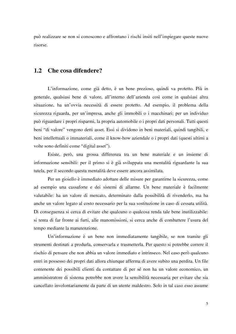Anteprima della tesi: Managed Security Services: monitoring di una rete aziendale mediante tecnologie di log consolidation e correlazione degli eventi, Pagina 3