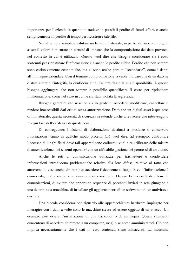 Anteprima della tesi: Managed Security Services: monitoring di una rete aziendale mediante tecnologie di log consolidation e correlazione degli eventi, Pagina 4