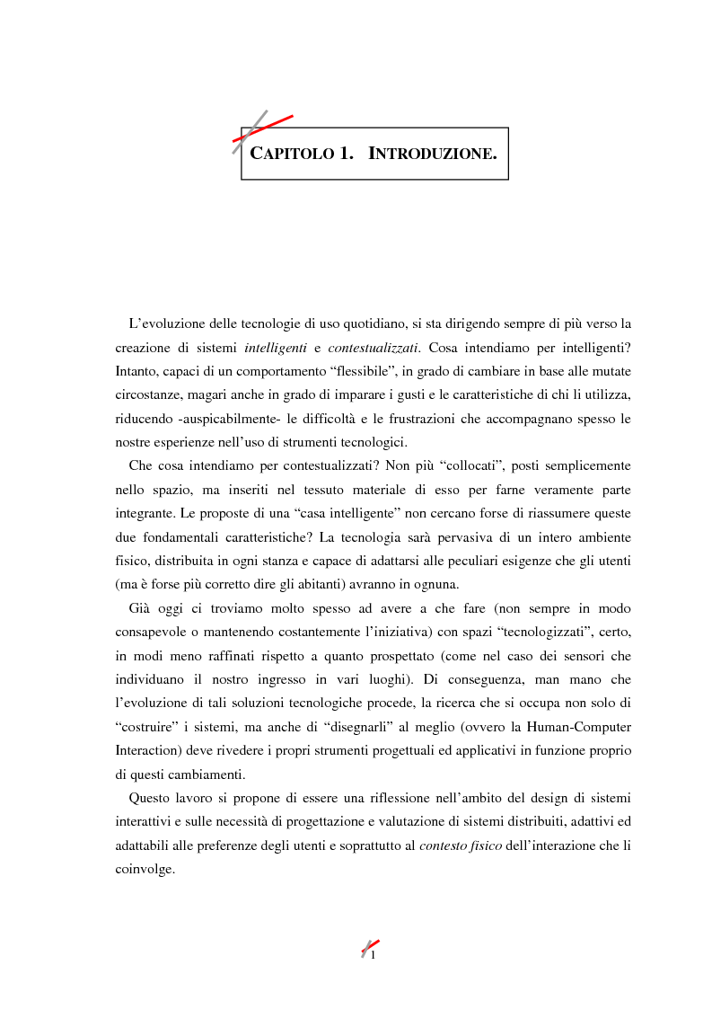 Anteprima della tesi: Lo spazio, l'informazione e l'arte: dinamiche di interazione, Pagina 1