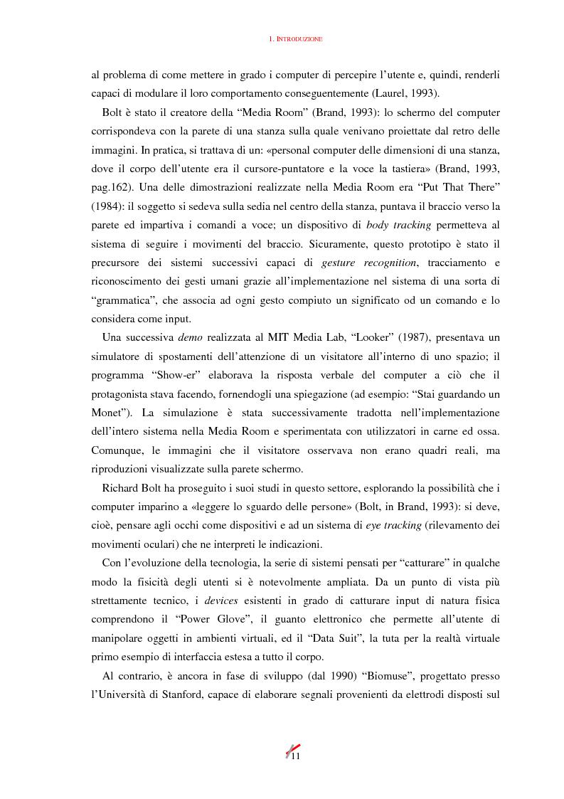 Anteprima della tesi: Lo spazio, l'informazione e l'arte: dinamiche di interazione, Pagina 11