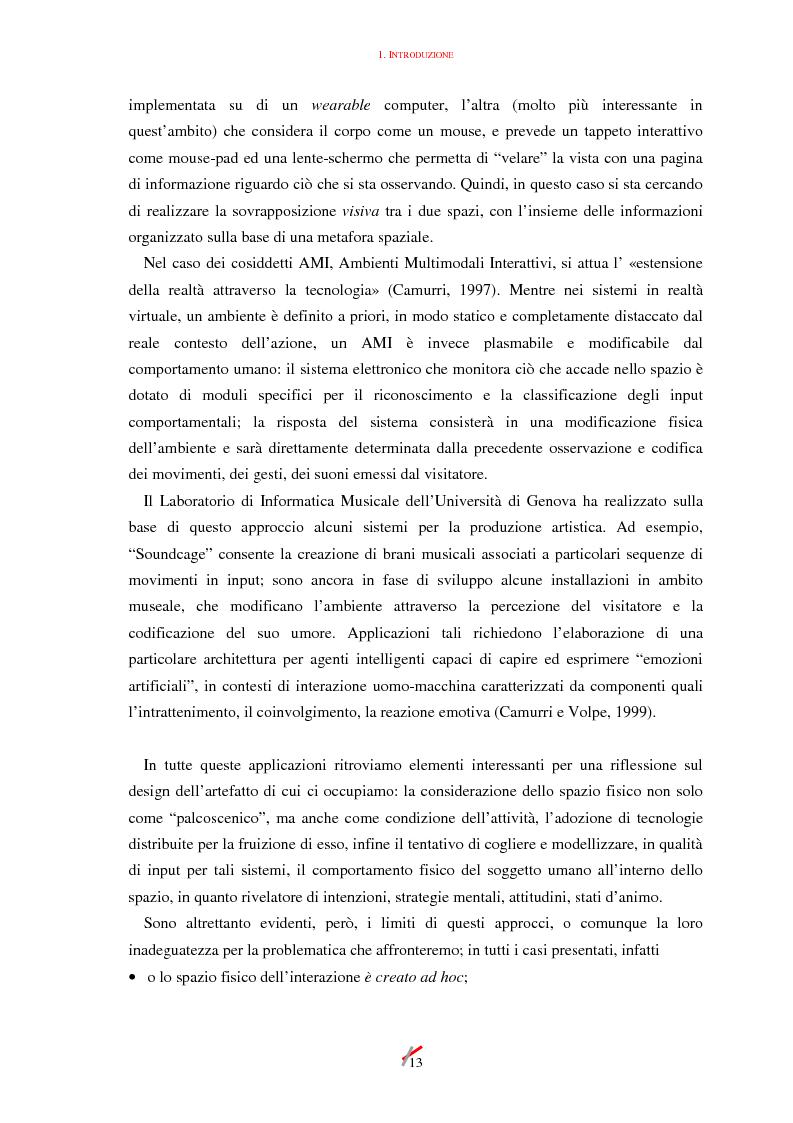 Anteprima della tesi: Lo spazio, l'informazione e l'arte: dinamiche di interazione, Pagina 13