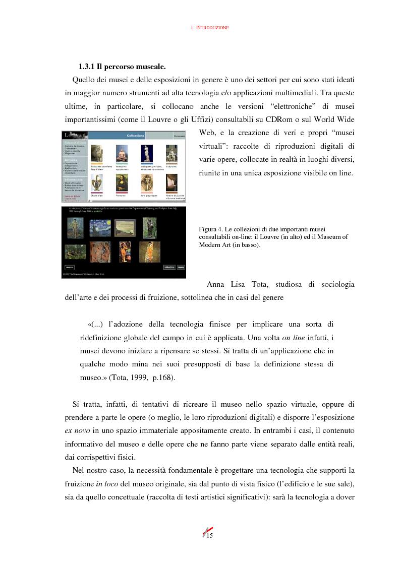 Anteprima della tesi: Lo spazio, l'informazione e l'arte: dinamiche di interazione, Pagina 15