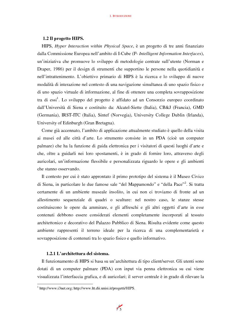 Anteprima della tesi: Lo spazio, l'informazione e l'arte: dinamiche di interazione, Pagina 5