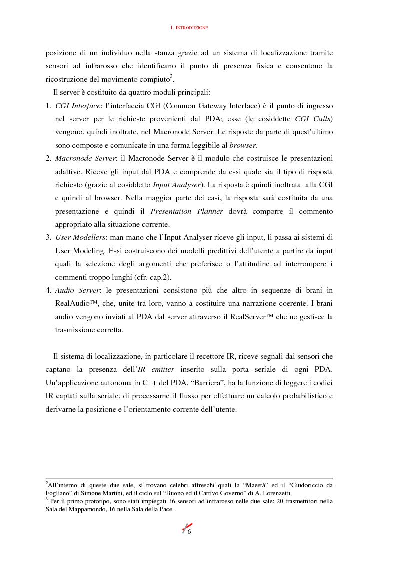 Anteprima della tesi: Lo spazio, l'informazione e l'arte: dinamiche di interazione, Pagina 6
