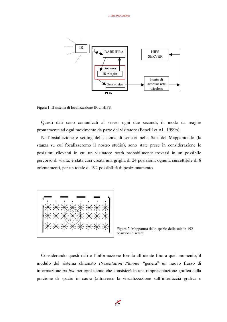 Anteprima della tesi: Lo spazio, l'informazione e l'arte: dinamiche di interazione, Pagina 7