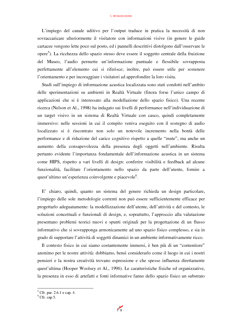 Anteprima della tesi: Lo spazio, l'informazione e l'arte: dinamiche di interazione, Pagina 9