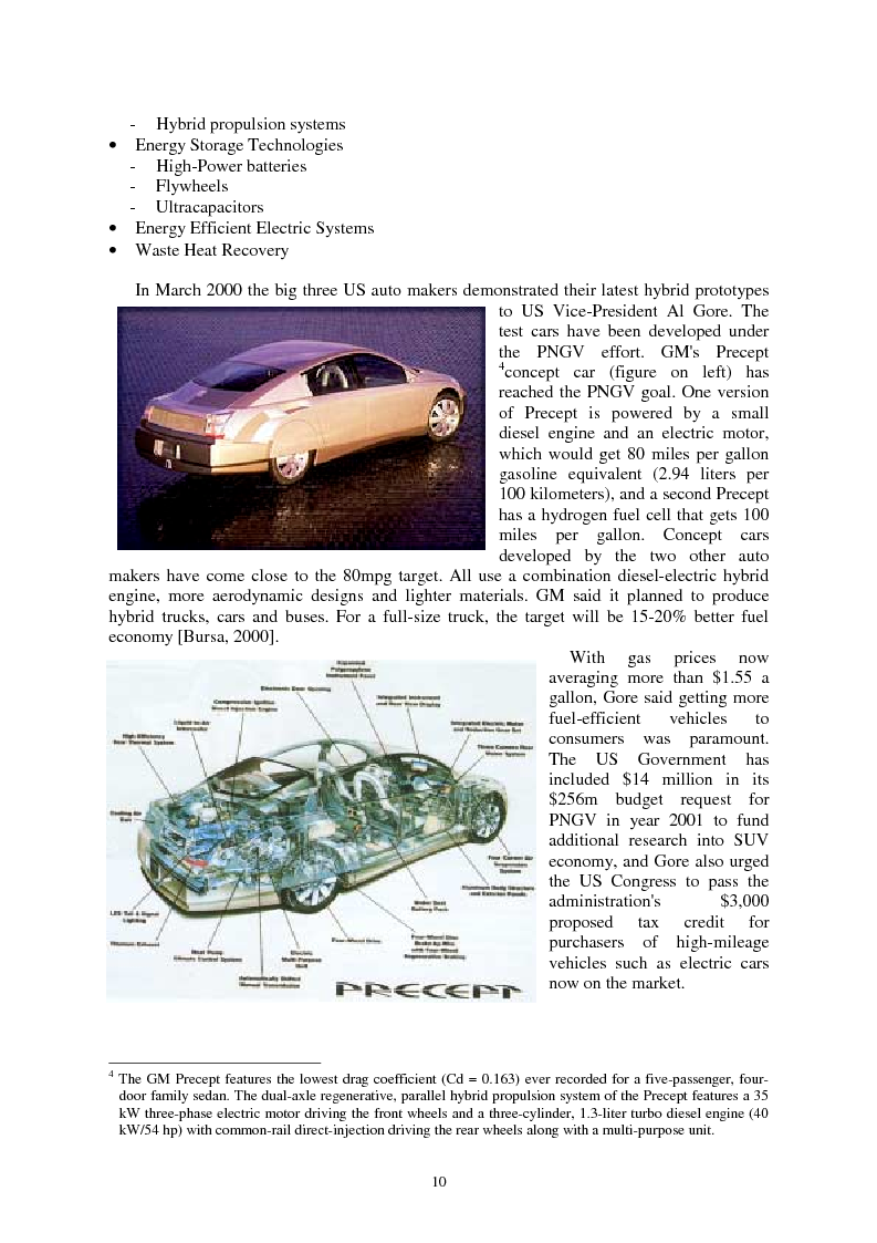 Anteprima della tesi: The Energy Conversions in a Hybrid-Propulsion Vehicle with Planetary Gear Set, Pagina 10