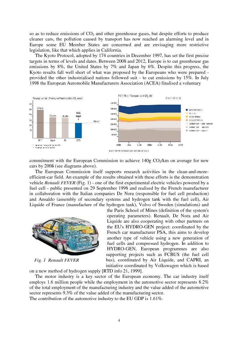 Anteprima della tesi: The Energy Conversions in a Hybrid-Propulsion Vehicle with Planetary Gear Set, Pagina 4