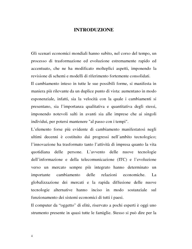 Anteprima della tesi: Banca virtuale e new economy: il caso MPSnet, Pagina 1