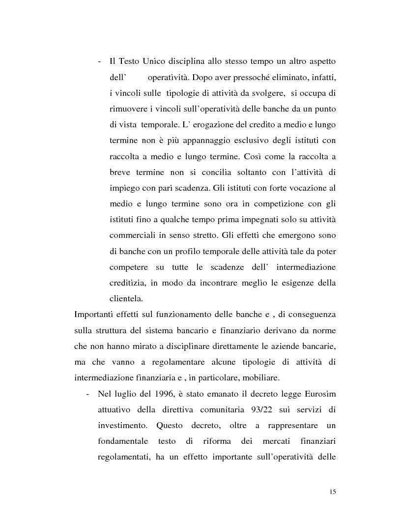 Anteprima della tesi: Banca virtuale e new economy: il caso MPSnet, Pagina 12