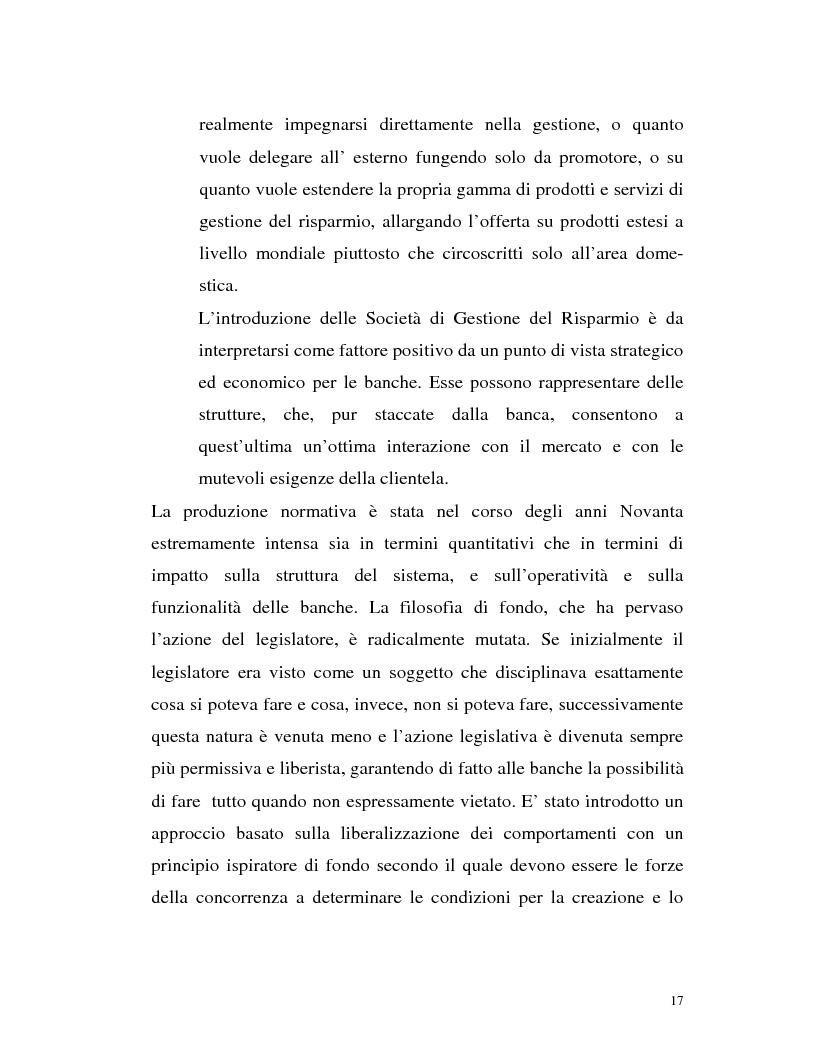 Anteprima della tesi: Banca virtuale e new economy: il caso MPSnet, Pagina 14