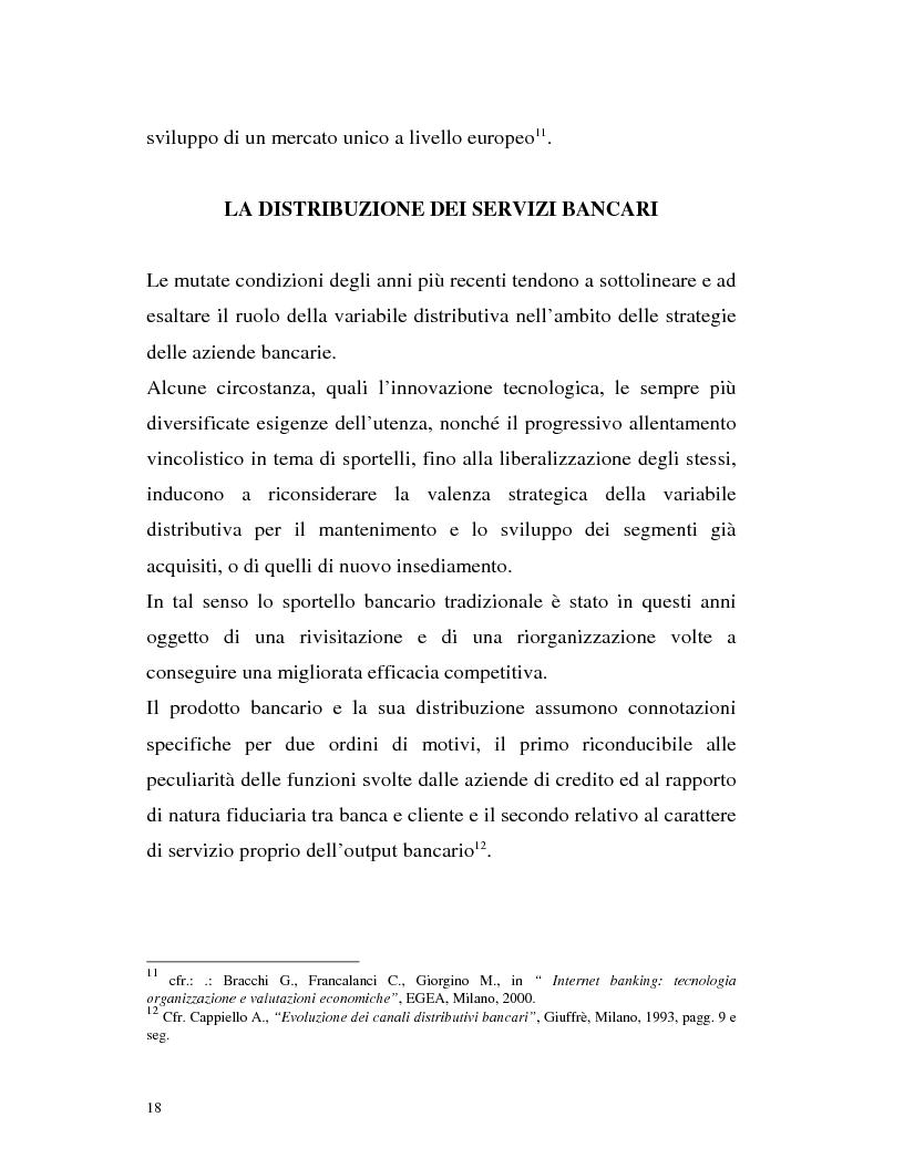 Anteprima della tesi: Banca virtuale e new economy: il caso MPSnet, Pagina 15