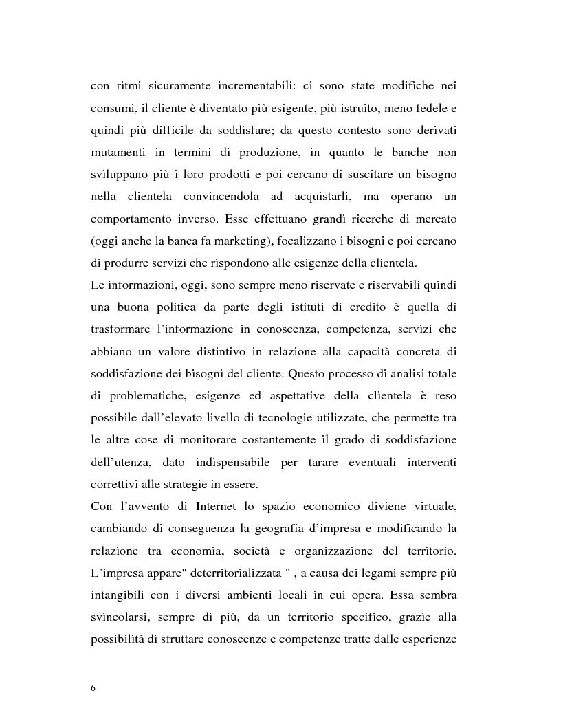 Anteprima della tesi: Banca virtuale e new economy: il caso MPSnet, Pagina 3