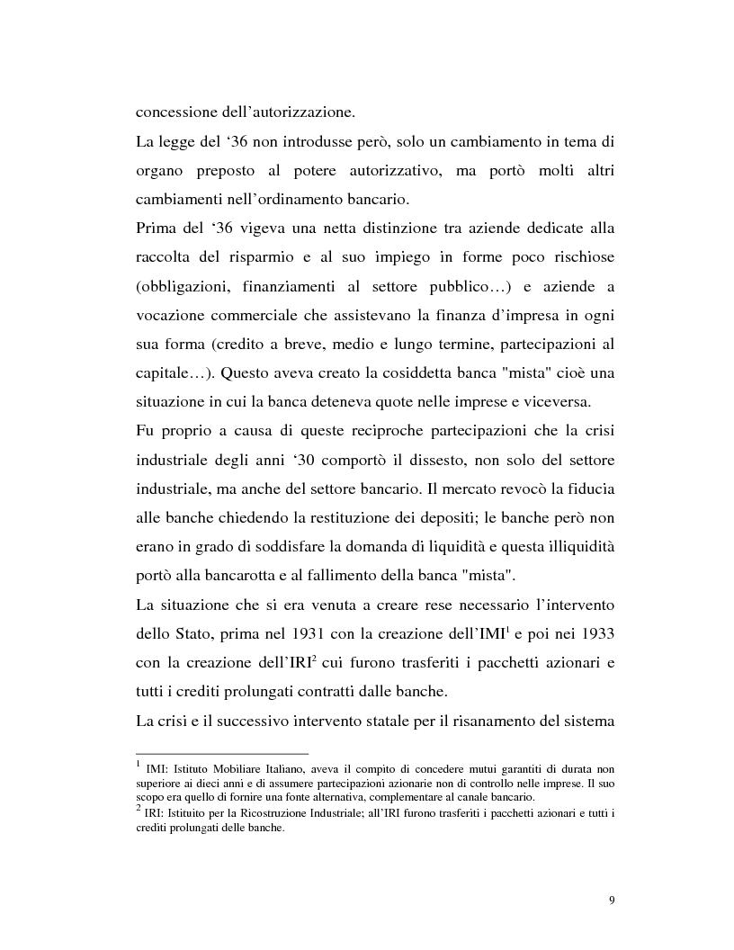 Anteprima della tesi: Banca virtuale e new economy: il caso MPSnet, Pagina 6