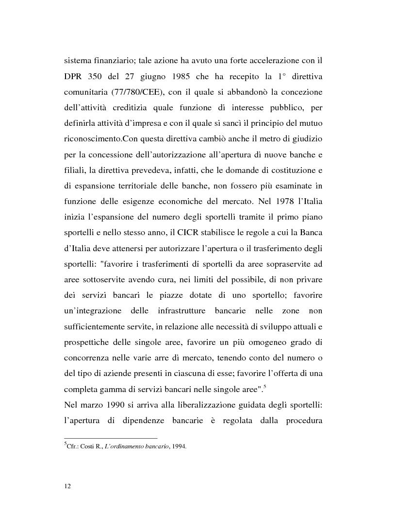 Anteprima della tesi: Banca virtuale e new economy: il caso MPSnet, Pagina 9