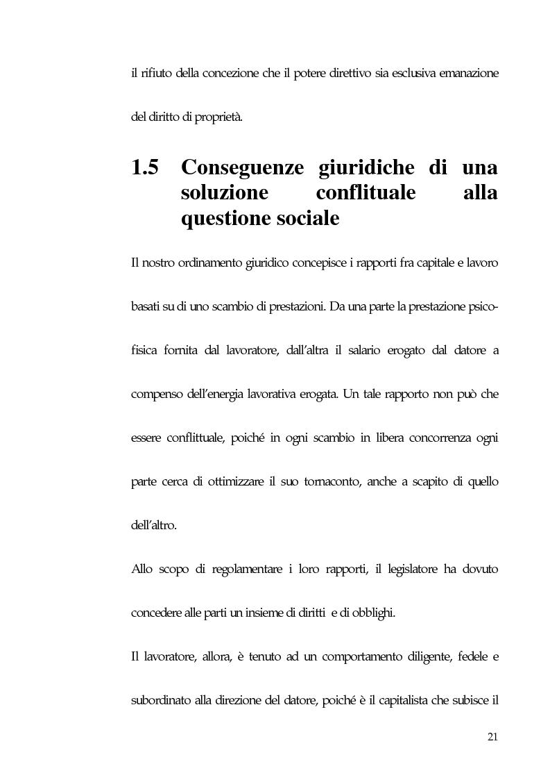 Anteprima della tesi: Qualità totale e rapporto di lavoro, Pagina 12