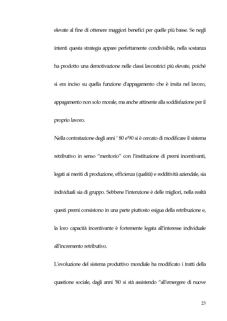 Anteprima della tesi: Qualità totale e rapporto di lavoro, Pagina 14