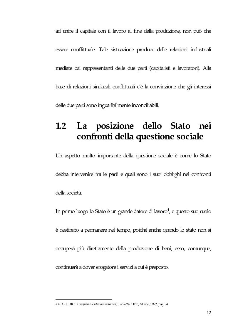 Anteprima della tesi: Qualità totale e rapporto di lavoro, Pagina 3