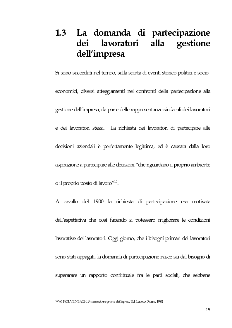 Anteprima della tesi: Qualità totale e rapporto di lavoro, Pagina 6