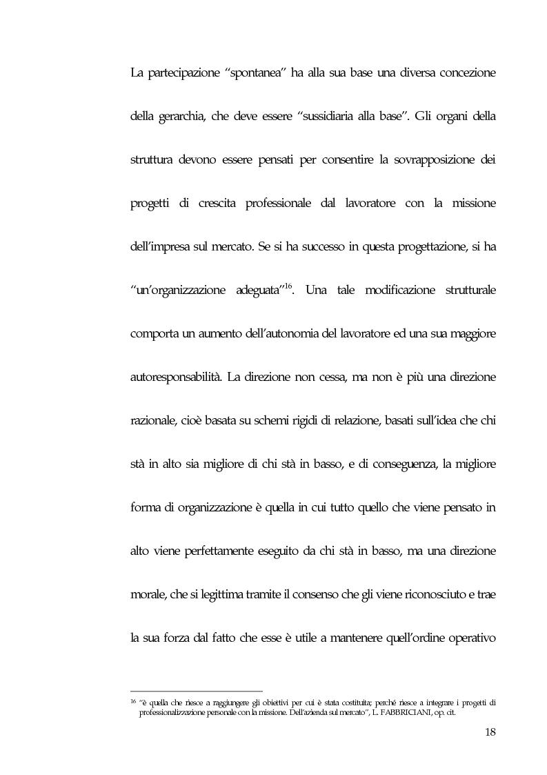 Anteprima della tesi: Qualità totale e rapporto di lavoro, Pagina 9