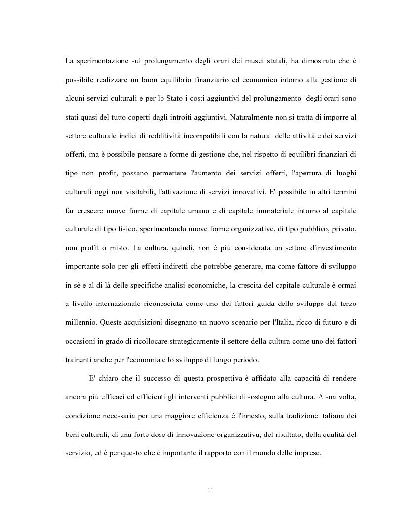 Anteprima della tesi: Le relazioni virtuose tra impresa & cultura: il caso Mandarina Duck, Pagina 11