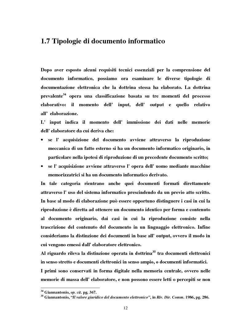 Anteprima della tesi: Il certificatore della chiave digitale, Pagina 12