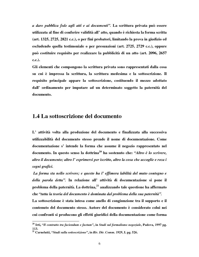 Anteprima della tesi: Il certificatore della chiave digitale, Pagina 6