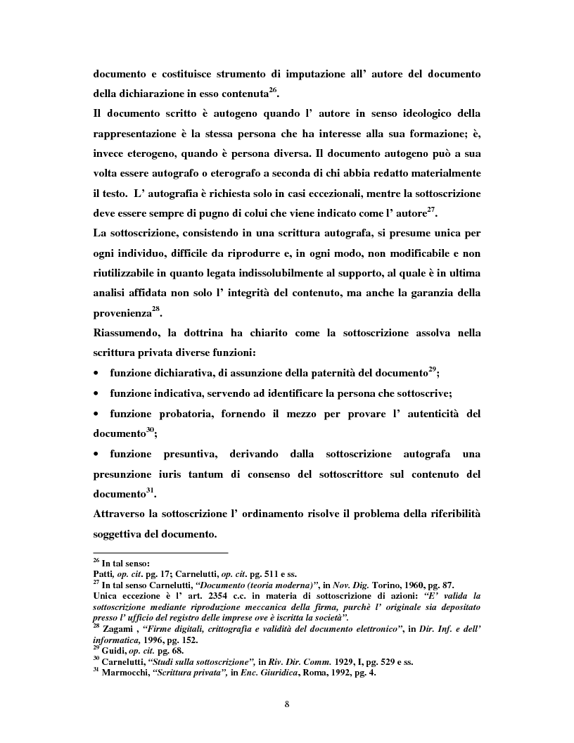Anteprima della tesi: Il certificatore della chiave digitale, Pagina 8