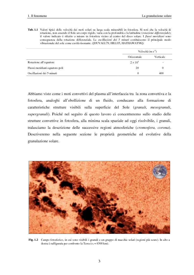 Anteprima della tesi: Analisi delle proprietà geometriche ed evolutive di strutture fotosferiche solari tramite algoritmi paralleli di riconoscimento e tracciamento, Pagina 6