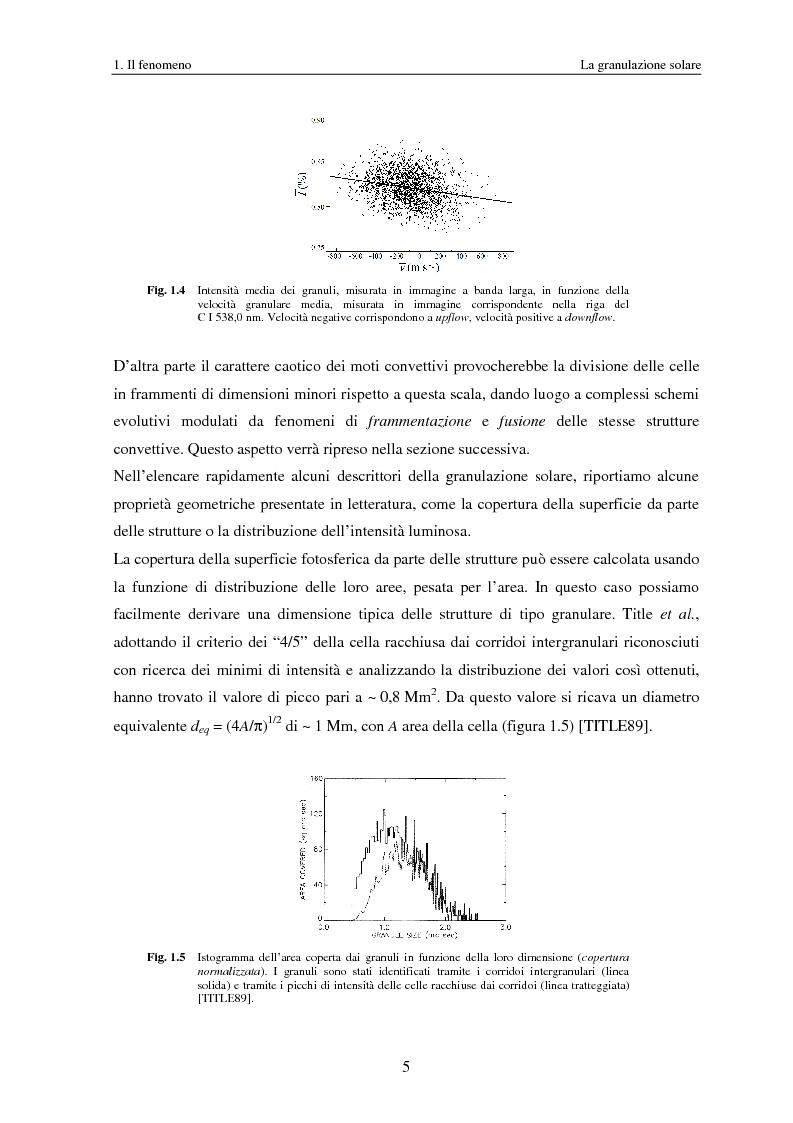 Anteprima della tesi: Analisi delle proprietà geometriche ed evolutive di strutture fotosferiche solari tramite algoritmi paralleli di riconoscimento e tracciamento, Pagina 8