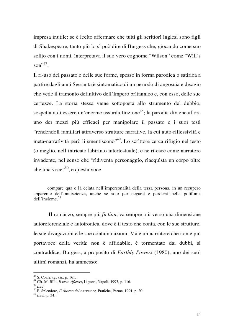Anteprima della tesi: ''Queer as a Clockwork Orange'': la narrativa distopica di Anthony Burgess, Pagina 12