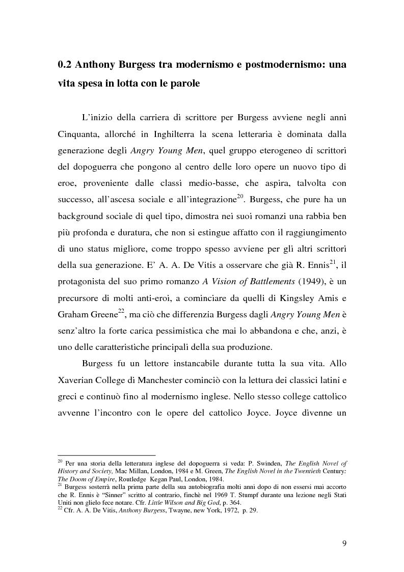 Anteprima della tesi: ''Queer as a Clockwork Orange'': la narrativa distopica di Anthony Burgess, Pagina 6