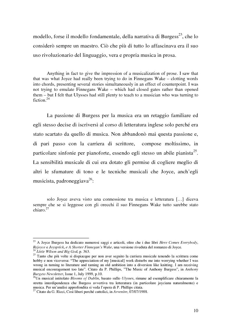 Anteprima della tesi: ''Queer as a Clockwork Orange'': la narrativa distopica di Anthony Burgess, Pagina 7