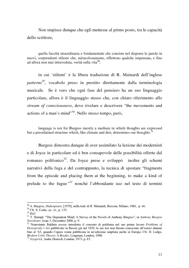 Anteprima della tesi: ''Queer as a Clockwork Orange'': la narrativa distopica di Anthony Burgess, Pagina 8