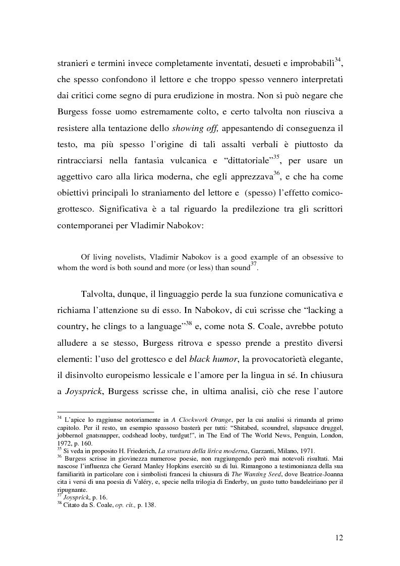 Anteprima della tesi: ''Queer as a Clockwork Orange'': la narrativa distopica di Anthony Burgess, Pagina 9