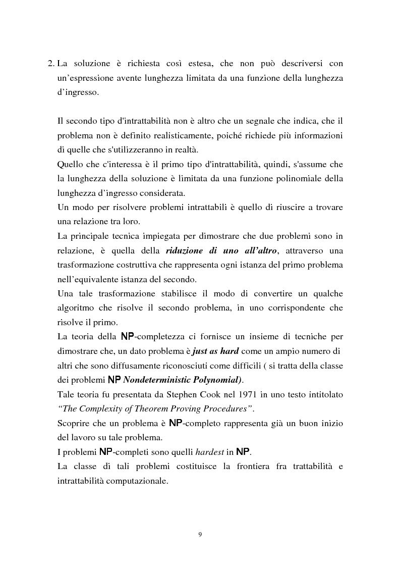 Anteprima della tesi: Metodi di assegnazione ottima ed applicazioni, Pagina 13