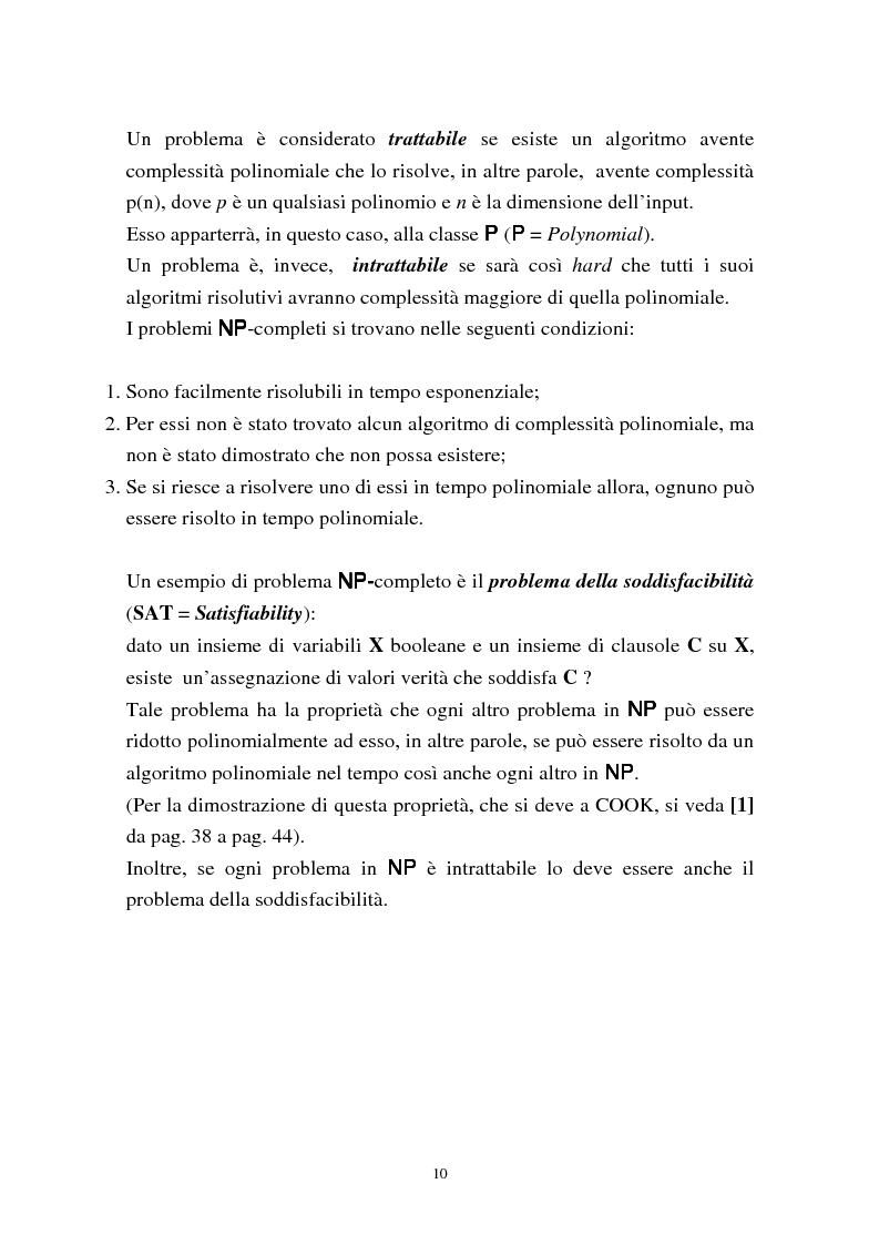 Anteprima della tesi: Metodi di assegnazione ottima ed applicazioni, Pagina 14