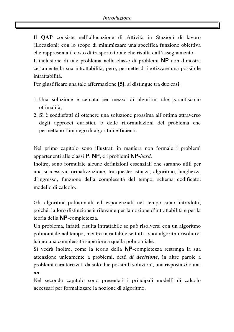 Anteprima della tesi: Metodi di assegnazione ottima ed applicazioni, Pagina 2