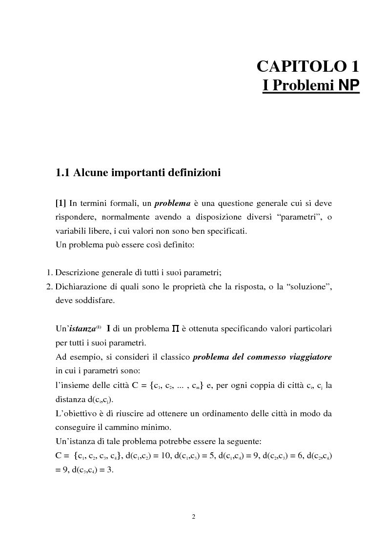 Anteprima della tesi: Metodi di assegnazione ottima ed applicazioni, Pagina 6