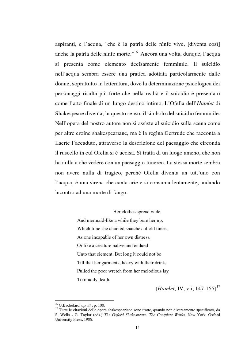 Anteprima della tesi: Le immagini dell'acqua nel teatro di William Shakespeare, Pagina 10
